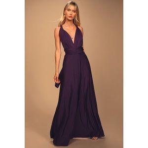 Lulu's Convertible Formal Maxi Dress